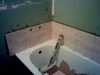 ванную комнату гипсокартоными листами